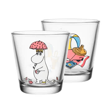 Iittala - Mumin glass 21 cl, Snorkmaiden in the Sun
