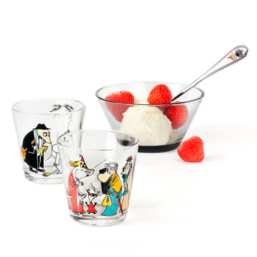Iittala - Mumin glass 21 cl, group