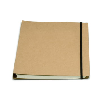 Atoma - Alain Berteau Notebook chequered A4, sand