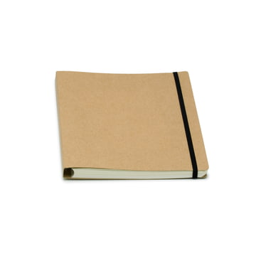 Atoma - Alain Berteau Notebook chequered A5, sand