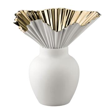 Rosenthal - Falda Vase, golden titanium coating