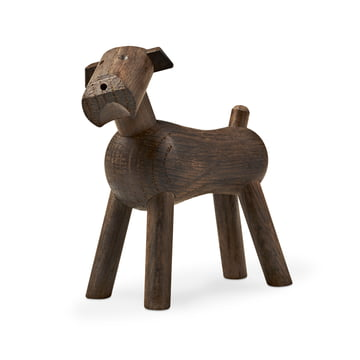 Kay Bojesen - Dog Tim in dark wood