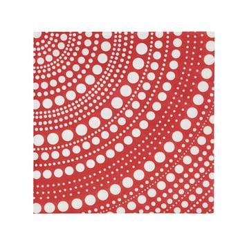 Iittala - Kastehelmi Paper Napkin 33 x 33 cm, red
