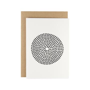 Karte - Murmurs greeting card in black