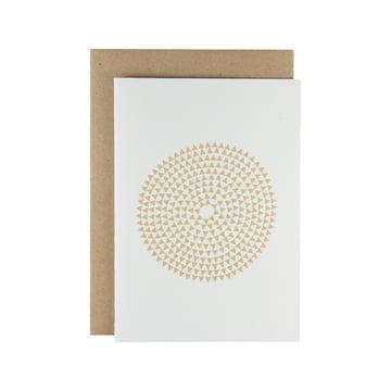 Karte - Murmurs greeting card in beige