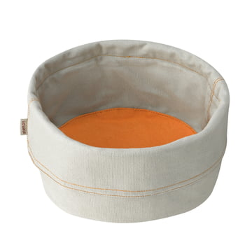 Stelton - Bread Bag large, beige / saffron