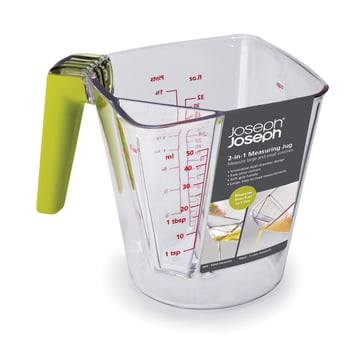 Joseph Joseph - 2-in-1 measuring cup with green handle