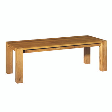 e15 - TA04 Bigfoot Table 230 x 92 cm in oiled oak