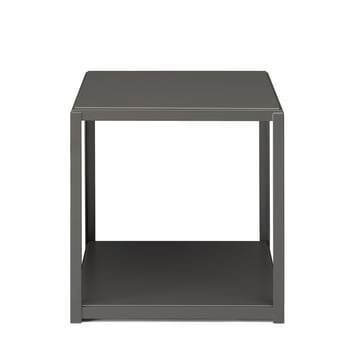 e15 - FK12 FortyForty stackable side table in grey