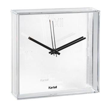 Kartell - Tic & Tac Wall Clock, white