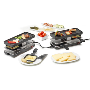 Raclette Twinboard set from Stöckli