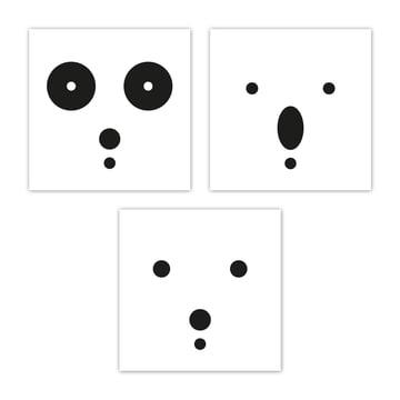 snug.bears art print set of 3 by Snug.studio