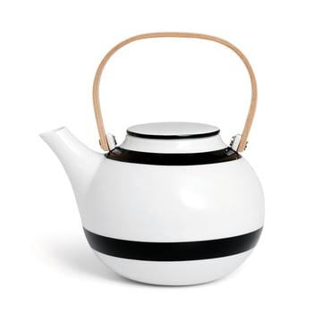 Kähler design - Omaggio teapot 1 L in black