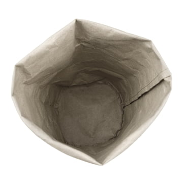Storage paper bag by Novoform in grey