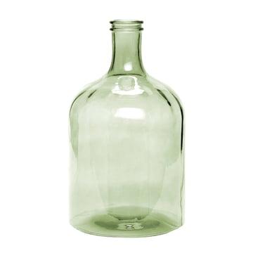 Retro glass vase XL by Novoform in green