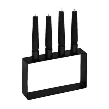 Frame 4 candleholder by Novoform in black