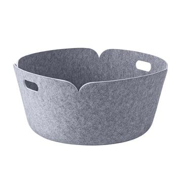 Muuto - Restore Round Basket, grey
