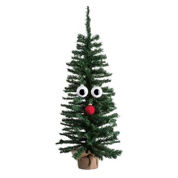 Corpus Delicti - Christmas tree ornament eye (set of 2), white