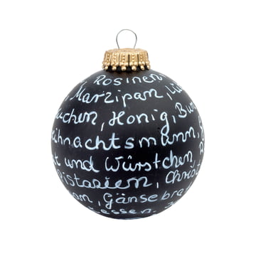 Corpus Delicti - Black Magic - DIY Christmas tree ornament, black matt