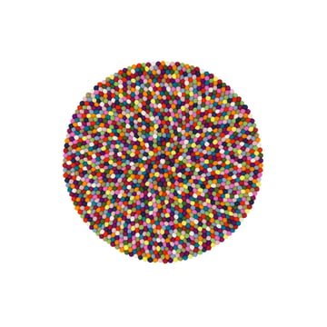 Lotte carpet round by myfelt, 90 cm