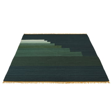 Another Rug AP4 by &Tradition in jade green