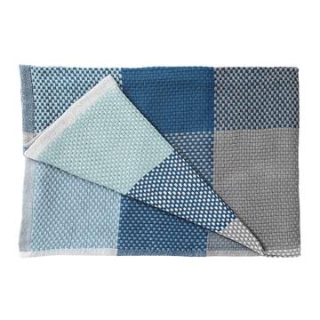 Muuto - Loom Throw, blue, folded