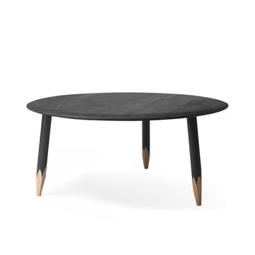 Hoof Coffee Table SW2 by &Tradition in black