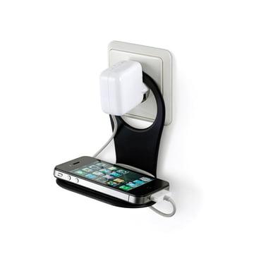 Mobile holder by Bobino in black