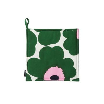 Pieni Unikko Potholder by Marimekko in green