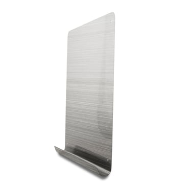 Magnetic Board with stainless steel shelf
