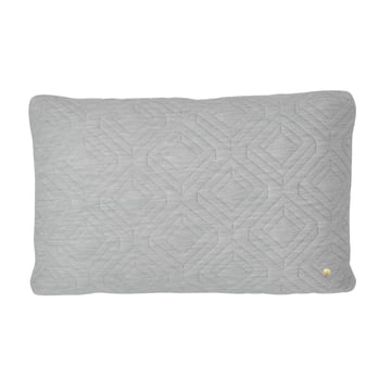 Cushion 60 x 40 cm by ferm Living in Light Grey