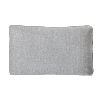 Wool cushion 60 x 40 cm by ferm Living in light grey