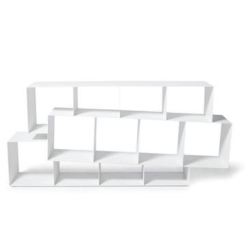 Squilibri Bookshelf by Skitsch in white