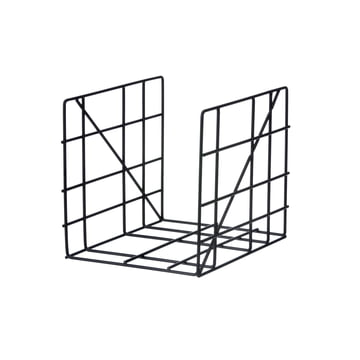 Square Magazine Holder by ferm Living in Black