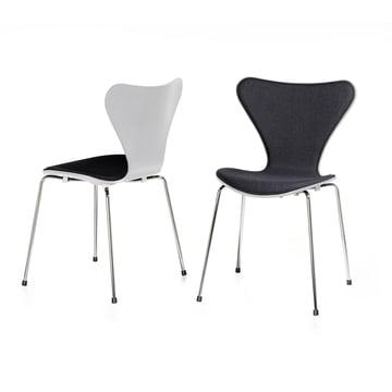 Fritz Hansen - Series 7 Chair Upholstery, white