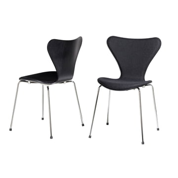 Fritz Hansen - Series 7 Chair Upholstery, black