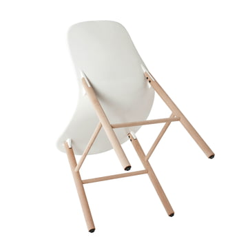 Sharky Chair with fin-like connections