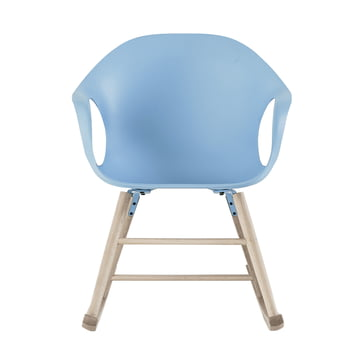Kristalia - Elephant rocking chair in light blue