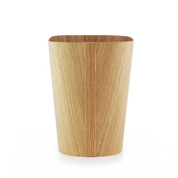 Tales of wood paper bin by Normann Copenhagen made from oak