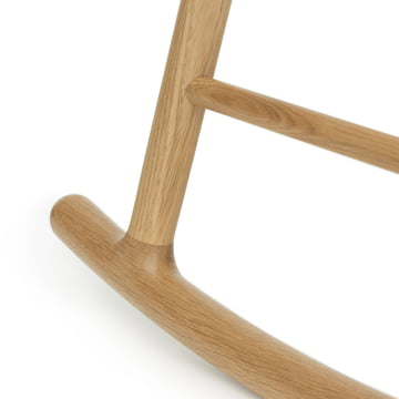 Rocking chair with frame in oak