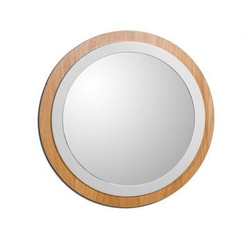 Mirror by The Hansen Family in cream white