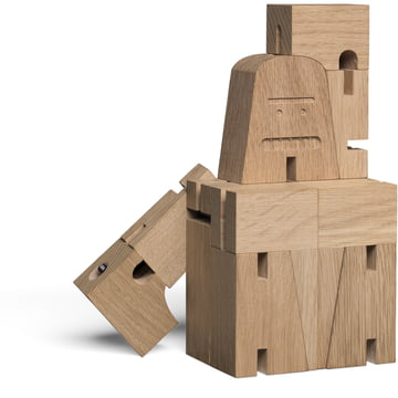Collapsible wooden figure