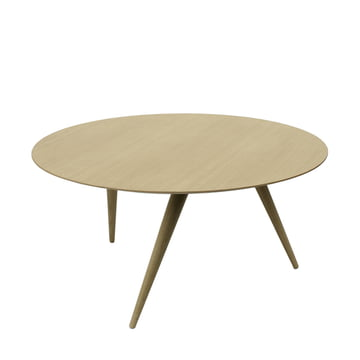 TURN LOW coffee table by Maigrau in natural oak clear painted