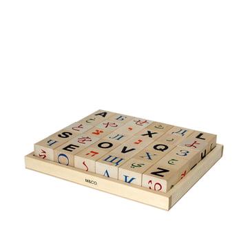 Global alphabet blocks by Klein & More