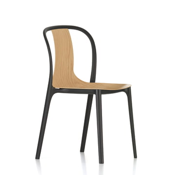 Belleville Chair Wood by Vitra in natural oak
