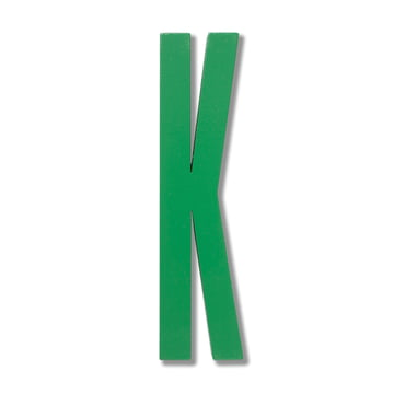 Design Letters - Wooden Letters Indoor K, green
