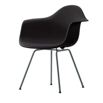 Vitra - Eames Plastic Armchair DAX in Basic dark