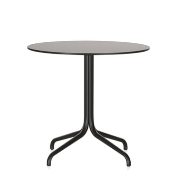 Belleville Bistro Table, round, Ø 79.6 cm by Vitra in black
