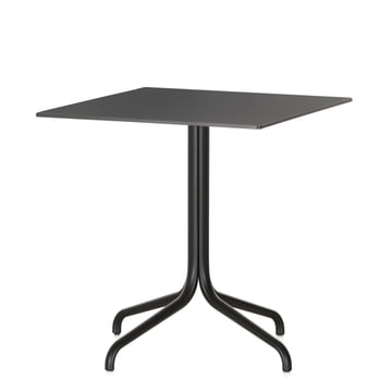 Belleville Bistro Table, square, 75 x 75 cm by Vitra in black