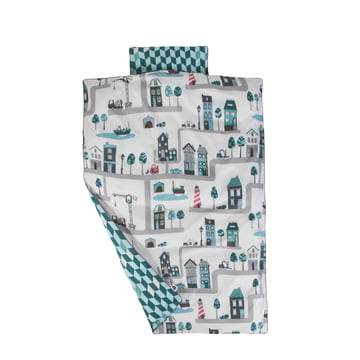 Baby Bed Linen Village by Sebra for boys